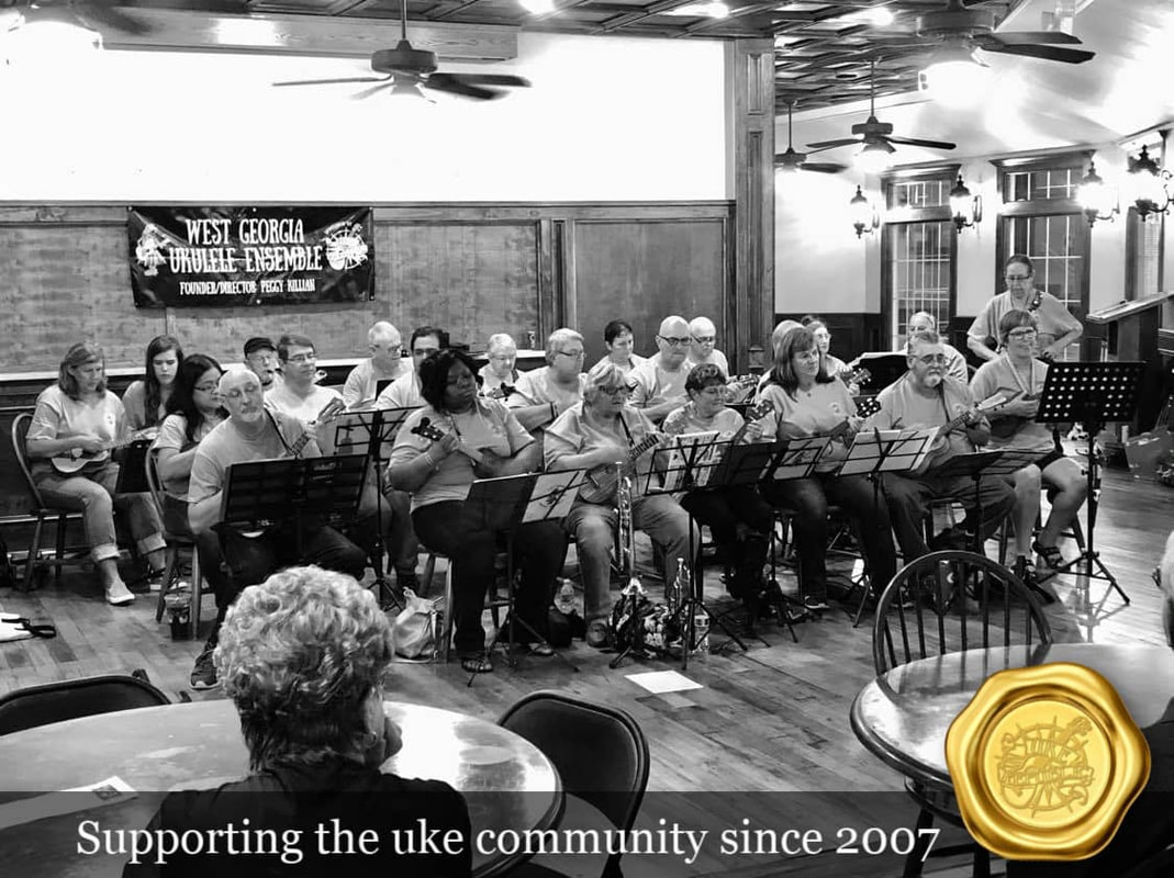 Supporting the ukulele groups at UKE Republic